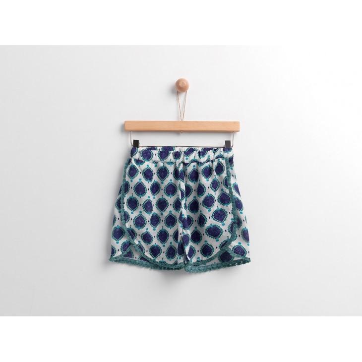 Boho Style Shorts Yellow Sub 42030545011