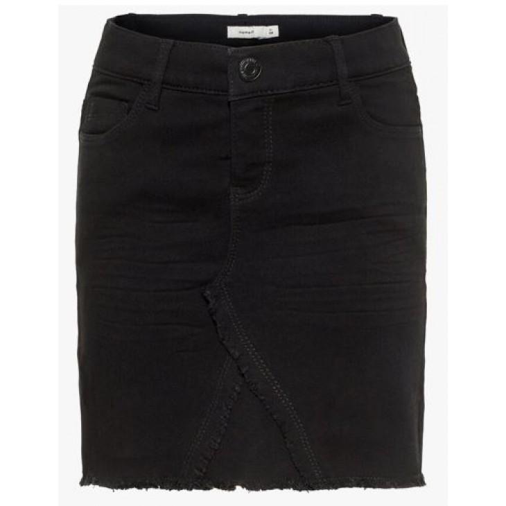 Black Denim Skirt Name it 13165971
