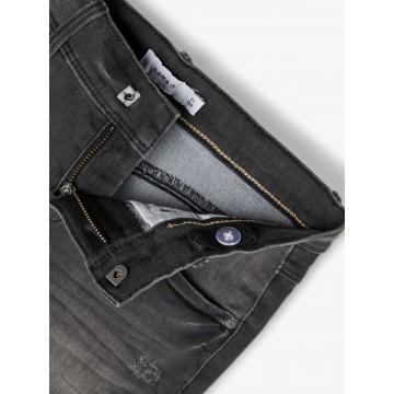 σορτς jean ελαστικο μαυρο black denim name it 13186121