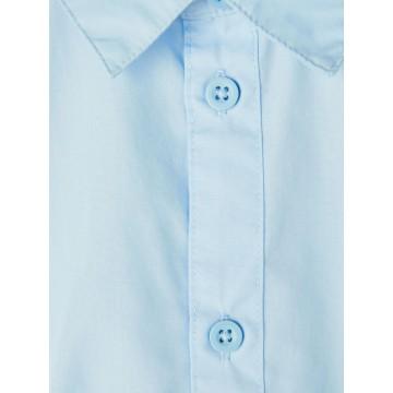 πουκάμισο κοντό μανίκι σιελ cashmere blue name it 13187529