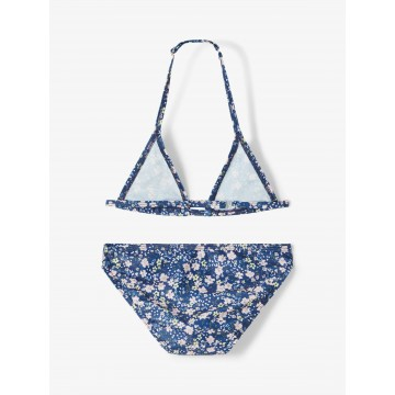 μπικίνι μαγιό floral μπλε blue depths name it 13187597