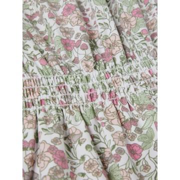 ολόσωμο οργανικό βαμβάκι με λουλούδια λευκό desert sage name it 13187633