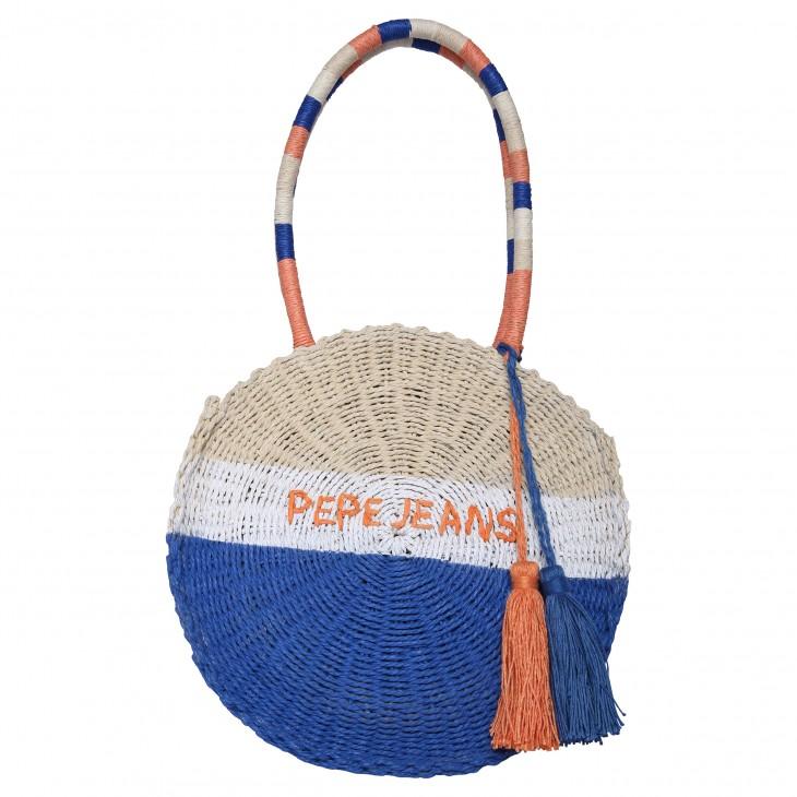 ψαθινη τσάντα TYE BAG pepe jeans PG030364-0AA