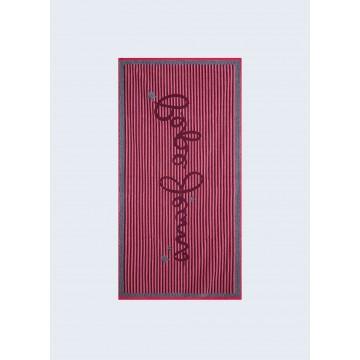 πετσετα θαλασσης μεγαλη μπλε pepe jeans daisy towel PGH10027-583