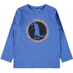 μπλούζα μπλε name it nmfvictor