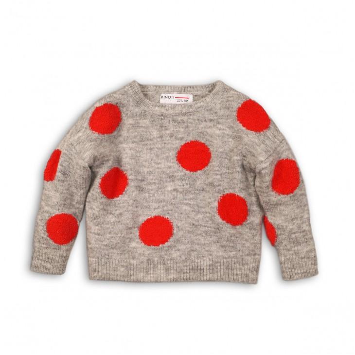 bobble knit marl jumper GIRL GANG
