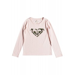 Μπλούζα ροζ Roxy meko ergzt