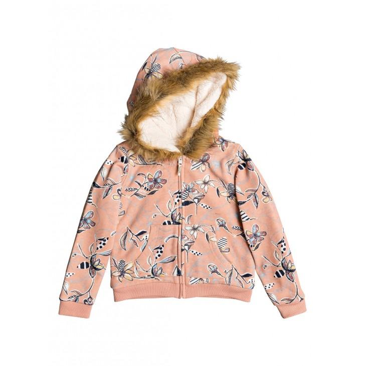 Roxy Butterflies Havin Fun   Zip up Hoodie