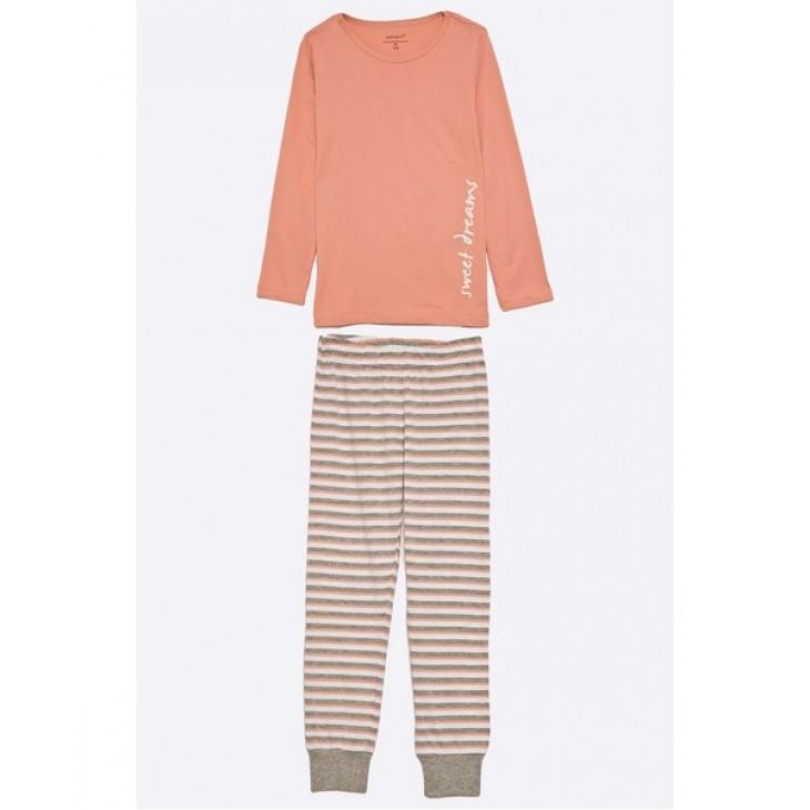 Kids striped nightset ROSE TAN