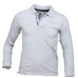 JERSEY KNIT POLO ΜΠΛΟΥΖΑ PEPE JEANS GREY
