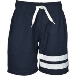 NKMZAK SWIM LONG SHORTS NMT CAMP DARK BLUE